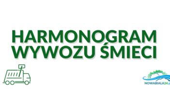 Harmonogram wywozu śmieci w Nowa Biała, Krempachy, Gronków