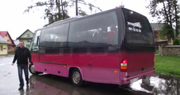 Autobus i zmieniony rozkład jazdy autobusów
