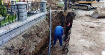 Budowa kanalizacji w Krempachach | fot. F Pacyga - krempachy.pl