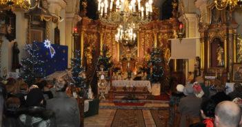 Msza święta Pasterka w Wigilię Bożego Narodzenia w Nowej Białej 2019