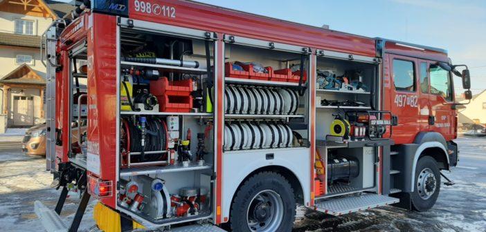 Nowy wóz strażacki OSP Nowa Biała